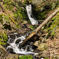 Orris Falls at the Orris Falls Preserve in South Berwick, Maine.