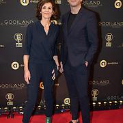 NLD/Hilversum/20200130 - Uitreiking De Gouden RadioRing 2020, Suzanne Bosman en Lammert de Bruin