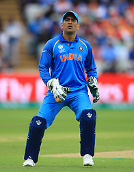 India's MS Dhoni during the ICC Champions Trophy, semi-final match at Edgbaston, Birmingham. PRESS ASSOCIATION Photo. Picture date: Thursday June 15, 2017