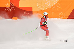 PYEONGCHANG-GUN, SOUTH KOREA - FEBRUARY 21:  Ragnhild Mowinckel  of Norway reacts during the Ladies' Downhill on day 12 of the PyeongChang 2018 Winter Olympic Games at Jeongseon Alpine Centre on February 21, 2018 in Pyeongchang-gun, South Korea. Photo by Ronald Hoogendoorn / Sportida