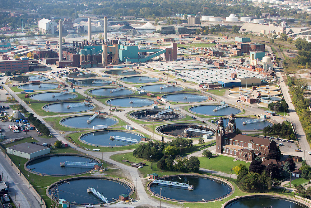 Detroit Water and Sewerage facility