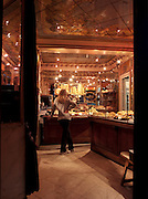 Early morning in a Parisien patisserie, Paris, France