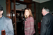 PRINCESS ROSARIO OF BULGARIA, Graydon and Anna Carter host a lunch for Carolina Herrera to celebrate the ipening of her new shop on Mount St. .The Connaught. London. 20 January 2010