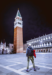 THEMENBILD - Markusturm am Markusplatz (Piazza San Marco), aufgenommen am 05. Oktober 2019 in Venedig, Italien // the Campanile di San Marco at the Piazza San Marco in Venice, Italy on 2019/10/05. EXPA Pictures © 2019, PhotoCredit: EXPA/ JFK