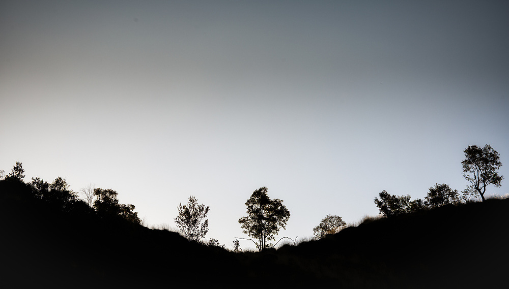 Landscape of the Pilbara region in the north west of Western Australia.