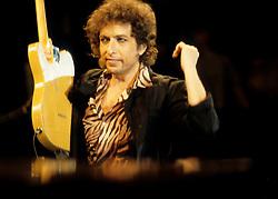 Bob Dylan concert at Wembley<br /> Bob Dylan and Eric Clapton / action press