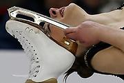 Amanda Hofmann competes in the ladies senior short program at the U.S. Figure Skating Championships in Omaha, Nebraska, January 24, 2013. REUTERS/Jim Young