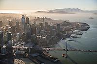 Bay Bridge & Downtown San Francisco