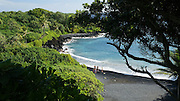 Waianapanapa, Black Sand Beach, Road to Hana, Maui, Hawaii