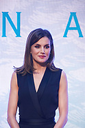 041818 Queen Letizia Attends Children and Youth Literary Awards Ceremony