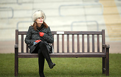 A female racegoer during Ladies Day of the 2018 Cheltenham Festival at Cheltenham Racecourse. PRESS ASSOCIATION Photo. Picture date: Wednesday March 14, 2018. See PA story RACING Cheltenham. Photo credit should read: Steven Paston/PA Wire. RESTRICTIONS: Editorial Use only, commercial use is subject to prior permission from The Jockey Club/Cheltenham Racecourse.