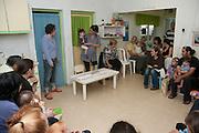 Hannukah celebration in a kindergarten in Israel