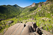 Granite rock formations, Lost Creek Wilderness, Colorado.