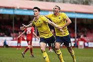 Crawley Town v Oxford United 090416
