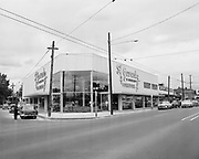 Y-560705B.  Gevurtz furniture store 4411 NE Sandy July 5, 1956