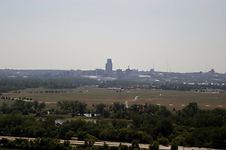 01 July 2006  A quick vacation through Iowa to Omaha.  ..scenic view of omaha nebraska from the Lewis and Clark monument