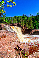 The area known as Gooseberry Falls State Park is intricately tied to human use of Lake Superior. At different times, the Cree, the Dakotah, and the Ojibwe lived along the North Shore...Gooseberry Falls is the gateway to the North Shore. It is known for its spectacular waterfalls, river gorge, Lake Superior shoreline, Civilian Conservation Corps log and stone structures, and north woods wildlife.