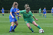 Central Football's Charlotte Lancaster in action in the National womens league football match, Central Football v Southern United, Massey University, Palmerston North, Sunday, December 02, 2018. Copyright photo: Kerry Marshall / www.photosport.nz