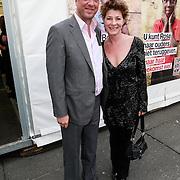 NLD/Amsterdam/20130601- Amsterdam diner 2013, haye van der Heijden en partner Veronique van der Scheer