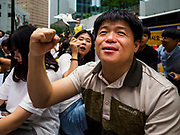 "SEOUL, SOUTH KOREA: A South Korean man chants against the Japanese refusal to apologize for using Korean women as sex slaves during World War II. The Wednesday protests have been taking place since January 1992. Protesters want the Japanese government to apologize for the forced sexual enslavement of up to 400,000 Asian women during World War II. The women, euphemistically called ""Comfort Women"" were drawn from territories Japan conquered during the war and many came from Korea, which was a Japanese colony in the years before and during the war. The ""comfort women"" issue is still a source of anger of many people in northeast Asian areas like South Korea, Manchuria and some parts of China.         PHOTO BY JACK KURTZ   <br /> Wednesday Demonstration demanding Japan to redress the Comfort Women problems"