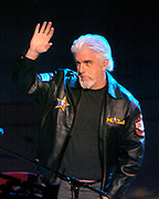 Michael McDonald performs during the NBA All-Star Game halftime show on Sunday, Feb. 15, 2004 in Los Angeles.