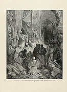 Astonishment of the Crusaders at the wealth of the East Plate X from the book Story of the crusades. with a magnificent gallery of one hundred full-page engravings by the world-renowned artist, Gustave Doré [Gustave Dore] by Boyd, James P. (James Penny), 1836-1910. Published in Philadelphia 1892