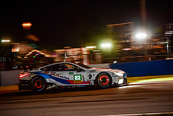 March 13, 2019 - Sebring, Etats Unis - 82 BMW TEAM MTEK (DEU) BMW M8 GTE GTE PRO ANTONIO FELIX DA COSTA (PRT) AUGUSTO FARFUS (BRA) BRUNO SPENGLER  (Credit Image: © Panoramic via ZUMA Press)