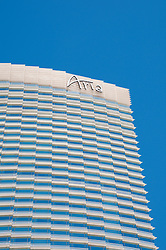 USA Las Vegas, Aria resort on the Strip, with its emphasis on design and outdoor pools.