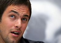Photo: Paul Thomas.<br /> England Press Conference. 01/06/2006.<br /> <br /> Joe Cole.