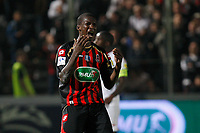 FOOTBALL - FRENCH CUP 2010/2011 - 1/2 FINAL - OGC NICE v LILLE OSC - 19/04/2011 - PHOTO PHILIPPE LAURENSON / DPPI - DESPAIR ABDOU TRAORE (NIC)