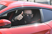 Foto Fabio Ferrari/LaPresse <br /> 05 Maggio 2020 Torino, Italia <br /> News<br /> Emergenza COVID-19 (Coronavirus) - La Juventus torna al lavoro<br /> Nella foto: Leonardo Bonucci arriva presso il centro sportivo della Juventus <br /> <br /> Photo Fabio Ferrari/LaPresse <br /> May 5, 2020 Turin, Italy <br /> News<br /> COVID-19 emergency (Coronavirus) - Juventus Fc return to work.<br /> in the pic:  Leonardo Bonucci arrives at the Juventus sports center