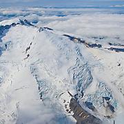 Mt. Douglas volcano in Katmai National Park, Alaska.