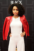 April 1, 2016- Newark, NJ: United States- Actress Yara Shahidi attends the 2016 Black Girls Rock Red Carpet Arrivals held at NJPAC on April 1, 2016 in Newark, New Jersey. Black Girls Rock! is an annual award show, founded by DJ Beverly Bond, that honors and promotes women of color in different fields involving music, entertainment, medicine, entrepreneurship and visionary aspects.   (Terrence Jennings/terrencejennings.com)