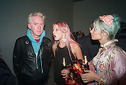 PHILIP TREACY; HARRIET VERNEY; MIMI WADE, Nihilistic optimistic Tim Noble and Sue Webster. BlainSouthern, Hanover Sq.  and afterwards at Tramp. London. 9 October 2012.