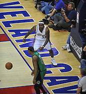 Cleveland's LeBron James reacts after a slam dunk against Boston..The Cleveland Cavaliers defeated the Boston Celtics 88-77 in Game 4 of the Eastern Conference Semi-Finals at Quicken Loans Arena in Cleveland.