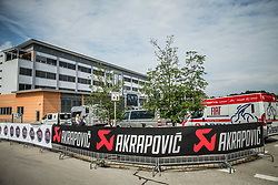 Akrapovic after the 5th Time Trial Stage of 25th Tour de Slovenie 2018 cycling race between Trebnje and Novo mesto (25,5 km), on June 17, 2018 in  Slovenia. Photo by Vid Ponikvar / Sportida