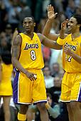 NBA-Portland Trail Blazers at Los Angeles Lakers-Feb 17, 2004