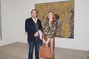 TOBY MOTT; PETRONELLA WYATT; , Mandala for Crusoe, Exhibition of work by Francesco Clemente. Blain/Southern. Hanover Sq. London. 29 November 2012