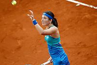 Anastasija Sevastova, Latvia, during Madrid Open Tennis 2017 match. May 11, 2017.(ALTERPHOTOS/Acero)