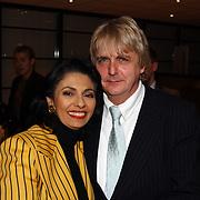 presentatie nieuwe BMW modellen, Laura Fygi en haar man Jacques Buhling