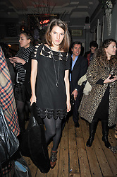 BEN GRIMES at a party to celebrate the 1st anniversary of Alice Temperley's label held at Paradise, Kensal Green, London W10 on 25th November 2010.