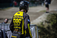 #595 (MOLINA Gonzalo) ARG during practice at Round 5 of the 2018 UCI BMX Superscross World Cup in Zolder, Belgium