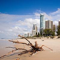 Australia, Queensland, Surfers Paradise, Q1, beaches, storm