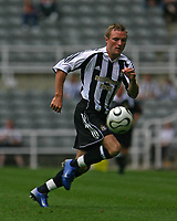 Photo: Andrew Unwin.<br />Newcastle United v PSV Eindhoven. Pre Season Friendly. 29/07/2006.<br />Newcastle's Paul Huntington.