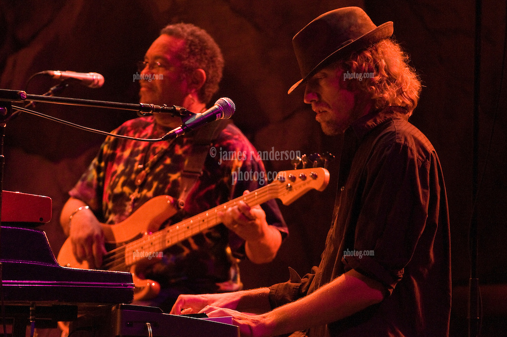 George Porter Jr. and Matt Hubard performing with 7 Walkers in Concert in The Wolfs Den at Mohegan Sun Casino on December 9, 2010