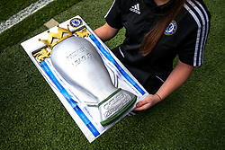 2016/17 Premier League Champions celebration cake - Rogan Thomson/JMP - 21/05/2017 - FOOTBALL - Stamford Bridge - London, England - Chelsea v Sunderland - Premier League..