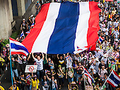 Anti-Government Protests Gridlock Bangkok