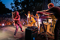 SOJA at Skyline Stage at the Mann Center for the Performing Arts, Philadelphia, July, 2014 (photo: John Shore)