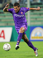 Firenze 19/08/06<br /> Coppa Italia Fiorentina-Giarre 3-0<br /> Adrian Mutu Fiorentina<br /> Foto Luca Pagliaricci Inside