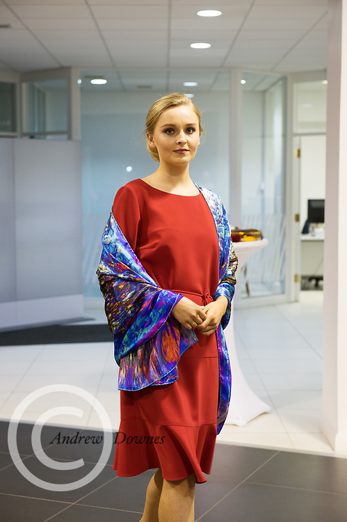 21/02/2018 REPRO FREE  The 2018 Irish Fashion Innovation Awards was launched at Monaghans & Sons Ltd showrooms.<br /> <br /> The 2018 Irish Fashion Innovation Awards take place on March 22nd at The Galmont Hotel & Spa, Galway<br /> At the stylish launch was attended by Ruth from Catwalk models.<br />  Photo:Andrew Downes, XPOSURE